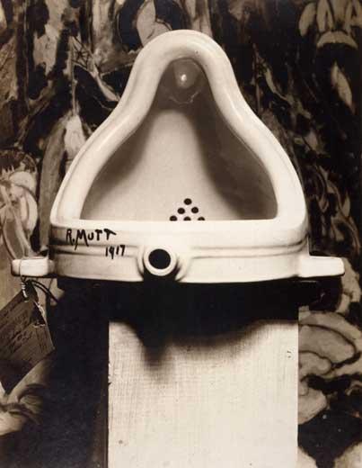 "Duchamp's ""Fountaine"""