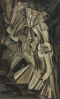 200px-Duchamp_-_Nude_Descending_a_Stairc