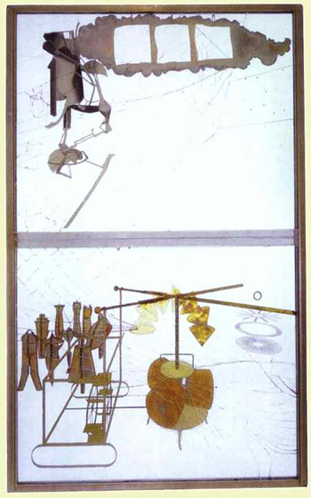 Duchamp: 'The Bride Stripped Bare by Her Bachelors, Even'  (1915-1923)