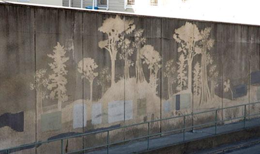 reverse or clean graffitti
